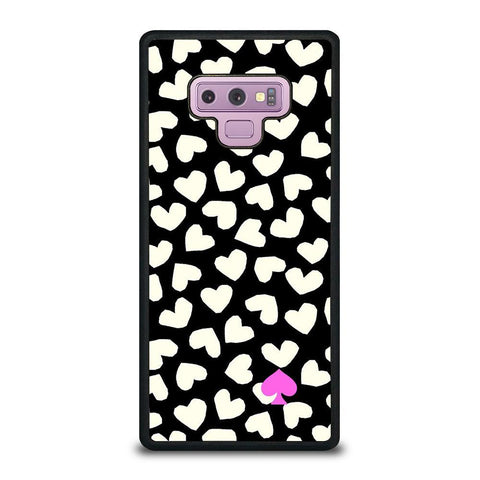 KATE SPADE LOVE HEART POLKADOTS-samsung-galaxy-note-9-case-cover