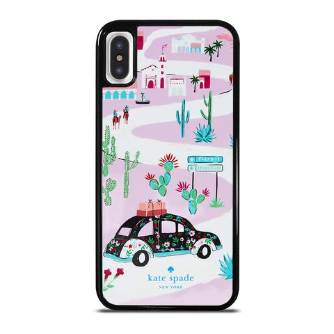 KATE SPADE NEW YORK ROAD TRIP-iphone-x-case-cover