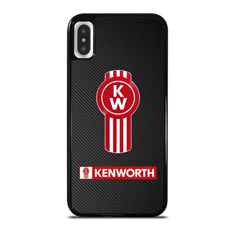 KENWORTH CARBON LOGO-iphone-x-case-cover