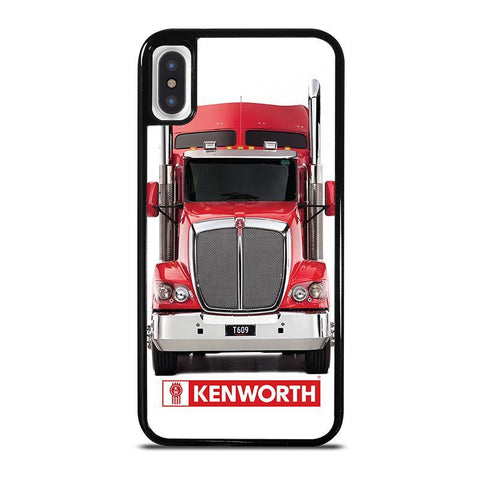 KENWORTH TRUCK FRONT-iphone-x-case-cover