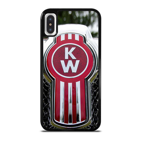 KENWORTH TRUCK Logo-iphone-x-case-cover