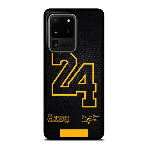 KOBE BRYANT BLACK MAMBA 24 SIGNATURE Samsung Galaxy S20 Ultra Case Cover