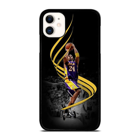 KOBE BRYANT LAKERS JUMP-iphone-11-case-cover
