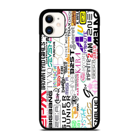 KPOP ALL BAND-iphone-11-case-cover