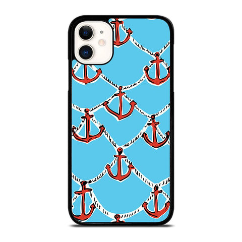 LILLY PULITZER ANCHOR-iphone-11-case-cover