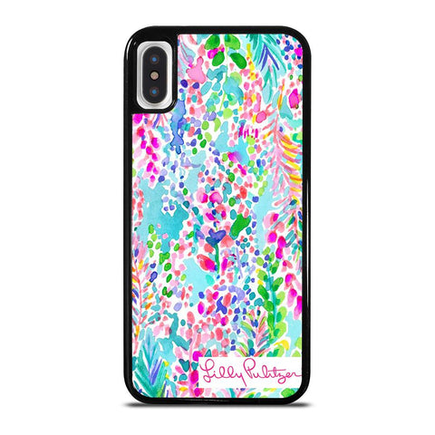 LILLY PULITZER CATCH THE WAVE-iphone-x-case-cover