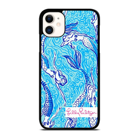 LILLY PULITZER NERMAID-iphone-11-case-cover