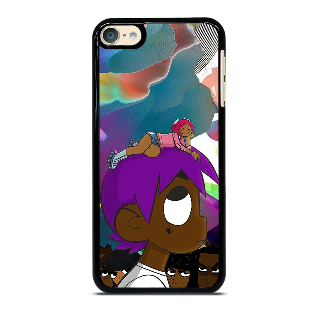 Lil Uzi Vert Cartoon Ipod Touch 6 Case Best Custom Ipod 6th Gen Cover Cool Design For Teenage And Girl Favocasestore