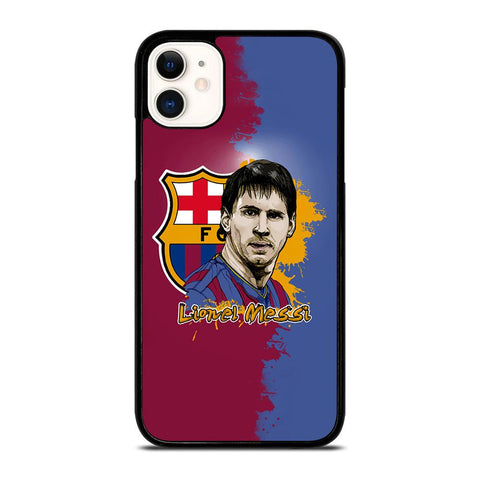 LIONEL MESSI BARCELONA ART-iphone-11-case-cover