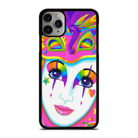 LISA FRANK CLOW MASK-iphone-11-pro-max-case-cover