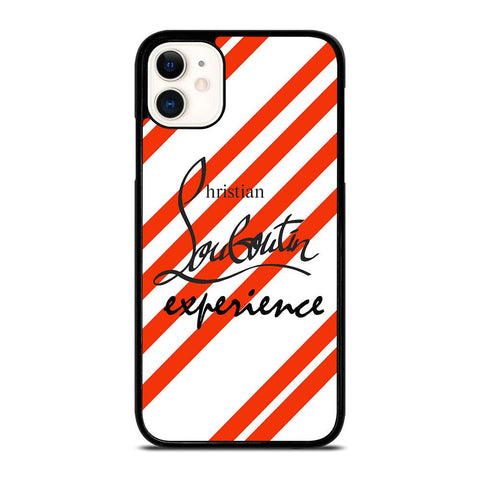 LOUBOUTIN STRIPE LOGO-iphone-11-case-cover