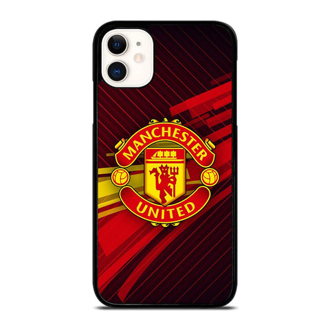MANCHESTER UNITED LOGO-iphone-11-case-cover