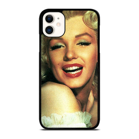 MARILYN MONROE SMILE-iphone-11-case-cover