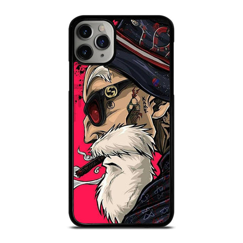 MASTER ROSHI DRAGON BALL-iphone-11-pro-max-case-cover