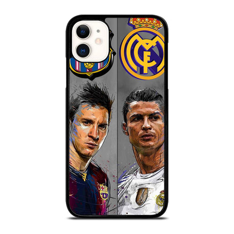 MESSI RONALDO-iphone-11-case-cover