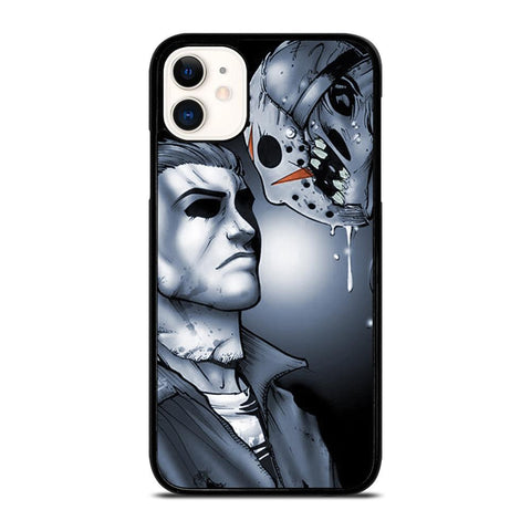 MICHAEL MYERS VS JASON-iphone-11-case-cover