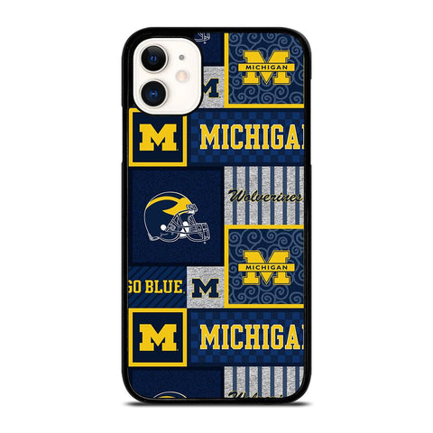 MICHIGAN WOLVERINES COLLAGE-iphone-11-case-cover