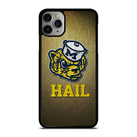 MICHIGAN WOLVERINES MASCOT-iphone-11-pro-max-case-cover