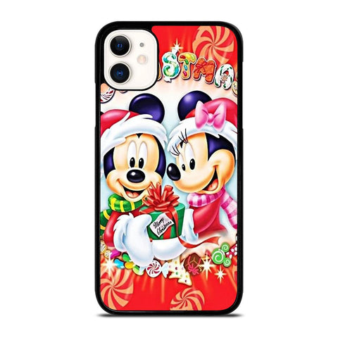 MICKEY MINNIE MOUSE DISNEY CHRISTMAS-iphone-11-case-cover