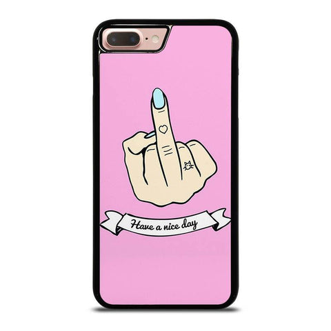MIDDLE-FINGER-Have-a-Nive-Day-iphone-8-plus-case-cover