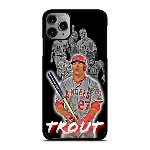 MIKE TROUT BASEBALL-iphone-11-pro-max-case-cover