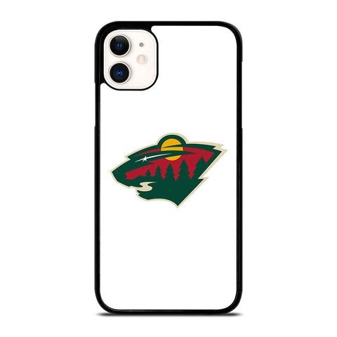 MINNESOTA WILD LOGO 3-iphone-11-case-cover