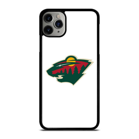 MINNESOTA WILD LOGO 3-iphone-11-pro-max-case-cover