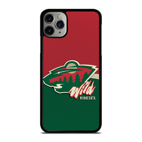 MINNESOTA WILD LOGO-iphone-11-pro-max-case-cover