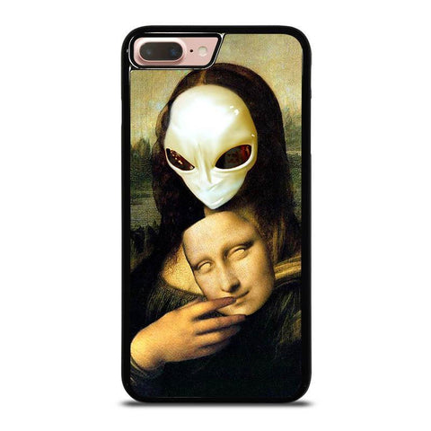 MONA-LISA-ALIEN-iphone-8-plus-case-cover