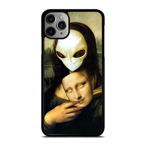 MONA LISA ALIEN-iphone-11-pro-max-case-cover
