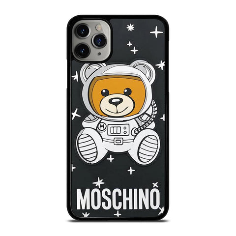 MOSCHINO BEAR ASTRONAUT-iphone-11-pro-max-case-cover