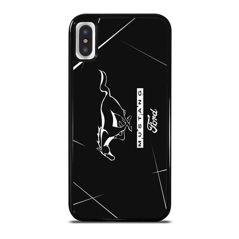 MUSTANG FORD LOGO-iphone-x-case-cover