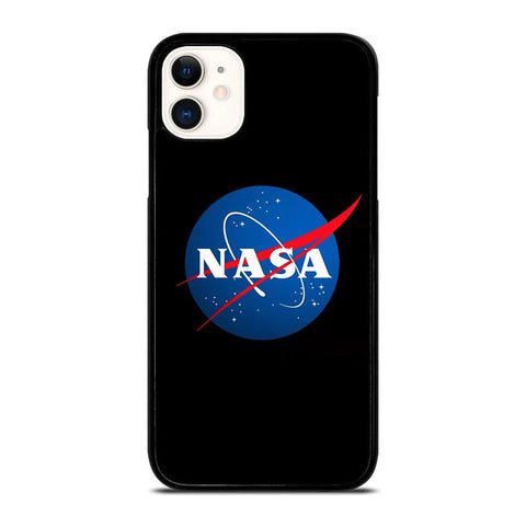 NASA LOGO BLACK-iphone-11-case-cover