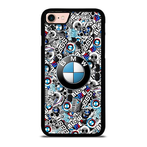 NEW BMW STICKER BOMB-iphone-8-case-cover