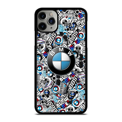 NEW BMW STICKER BOMB-iphone-11-pro-max-case-cover