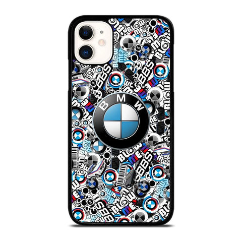 NEW BMW STICKER BOMB-iphone-11-case-cover