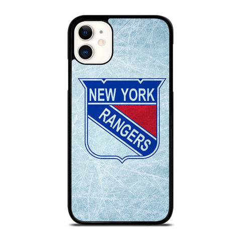 NEW YORK RANGERS NHL ICE LOGO-iphone-11-case-cover