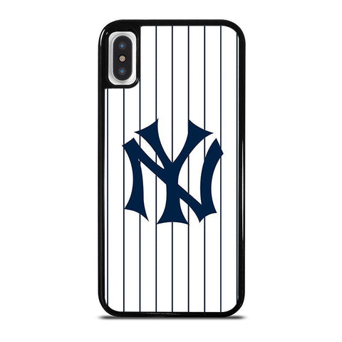 NEW YORK YANKEES JESEY LOGO-iphone-x-case-cover