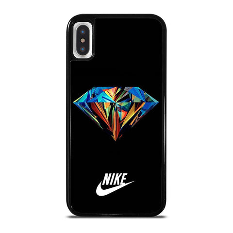 NIKE DIAMOND-iphone-x-case-cover