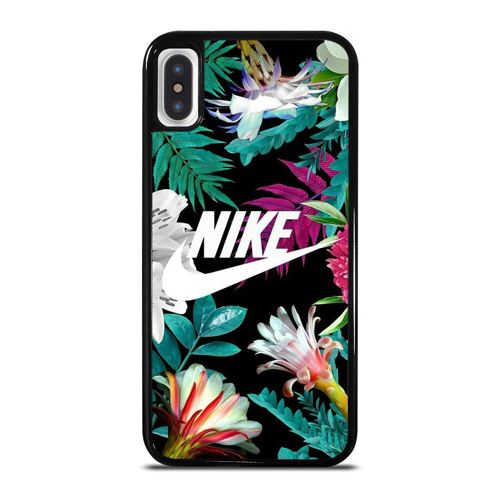 NIKE FLORAL-iphone-x-case-cover