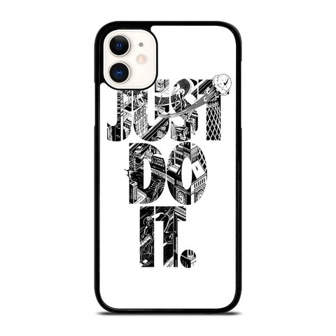 NIKE JUST DO IT TYPE-iphone-11-case-cover