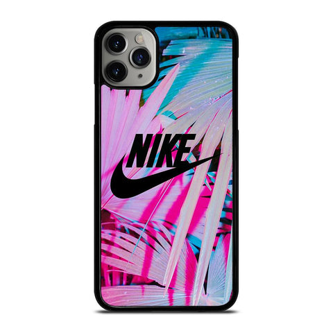 NIKE LOGO PALM-iphone-11-pro-max-case-cover