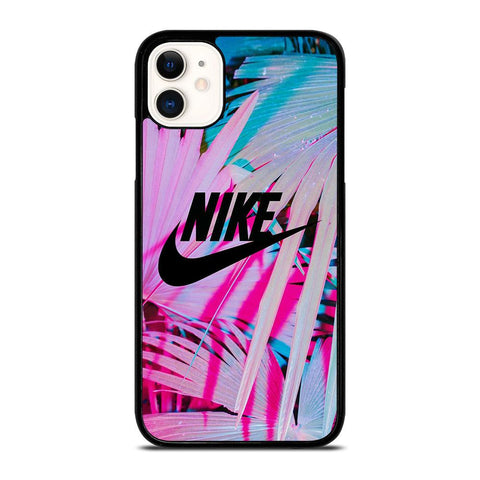 NIKE LOGO PALM-iphone-11-case-cover