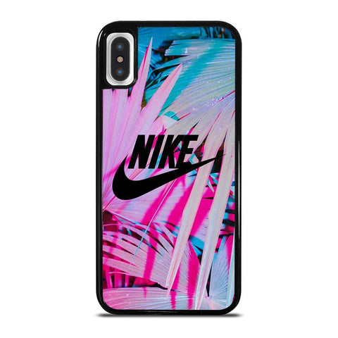 NIKE LOGO PALM-iphone-x-case-cover