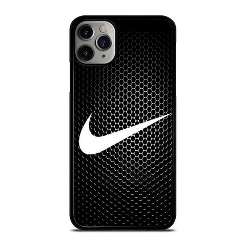 NIKE METAL LOGO-iphone-11-pro-max-case-cover