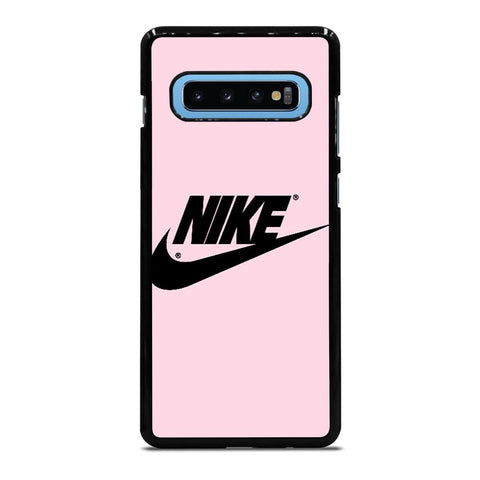 NIKE PINK LOGO Samsung Galaxy S10 Plus Case - Best Custom Phone Cover Cool Personalized Design