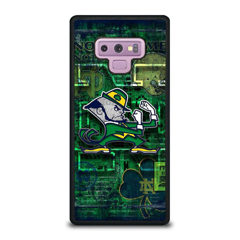 NOTRE DAME FIGHTING LOGO-samsung-galaxy-note-9-case-cover