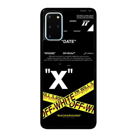 OFF WHITE 2 Samsung Galaxy S20 Plus Case Cover