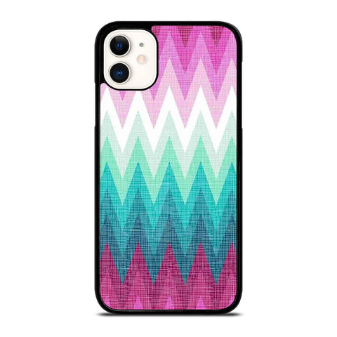 OMBRE PASTEL CHEVRON-iphone-11-case-cover