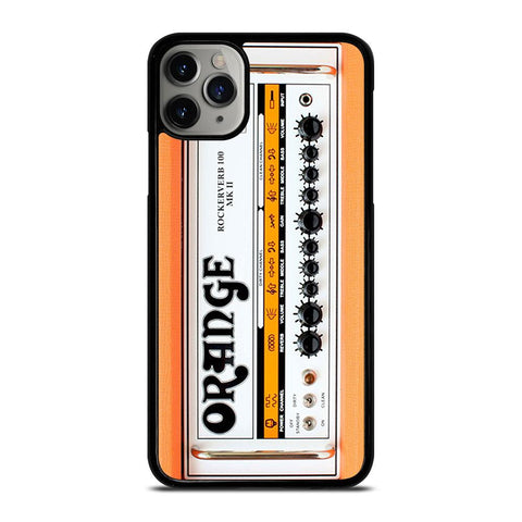 ORANGE GUITAR BASS AMP HEAD-iphone-11-pro-max-case-cover